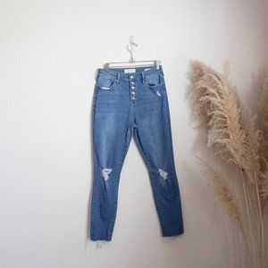 Pacsun high rise ankle jegging jeans